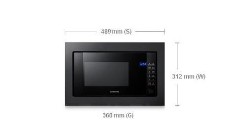 Samsung Kuchnia mikrofalowa FG87SUB