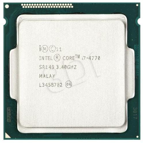 intel CORE I7 4770 3.4GHz LGA1150 OEM
