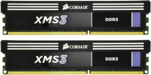 Corsair 8 GB CMX8GX3M2B1600C9