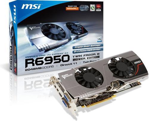 MSI R6950 Twin Frozr III PE/OC