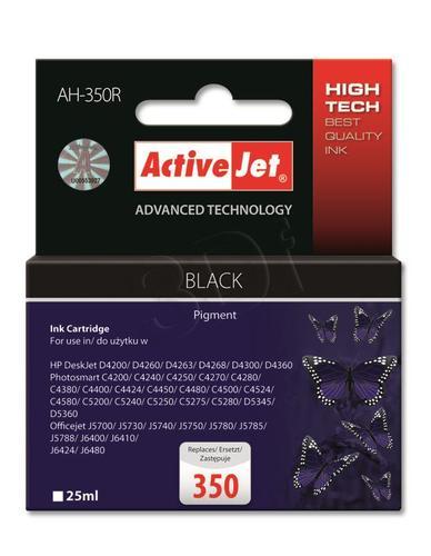 ActiveJet AH-350R tusz czarny do drukarki HP (zamiennik HP 350 CB335EE) Premium
