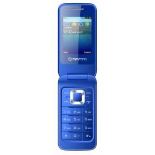 Manta Multimedia TEL2405B Flip Touch, Niebieski (TEL2405B)