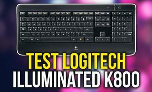 Logitech Illuminated K800 - Bezprzewodowa Klawiatura w Rozsądnej Cenie