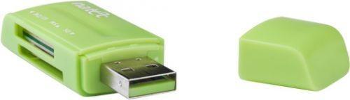 NATEC Czytnik kart mini ANT 3 SDHC USB 2.0 Green