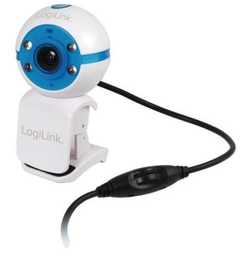 LogiLink Kamera internetowa LED USB 2.0 z mikrofonem