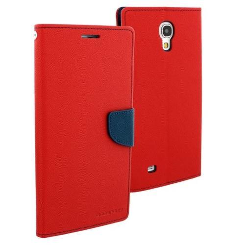 """WEL.COM Etui skórzane Fancy Samsung Galaxy Tab 3 8"""", czerwono - granatowe"""