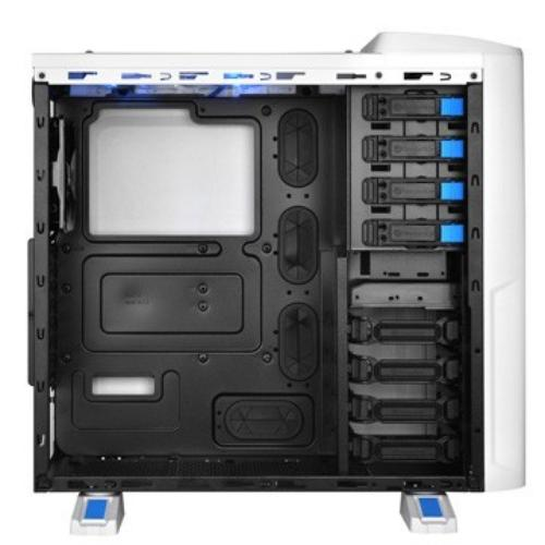 Thermaltake Chaser A41 Snow Edition USB 3.0 Window (2x120mm 200mm, LED), biała