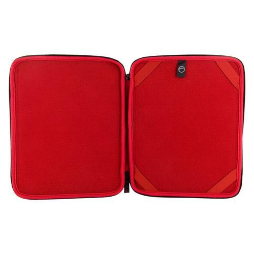 4World Etui Pikowane | tablet | 270x220x20mm | 9.7'' | czarne