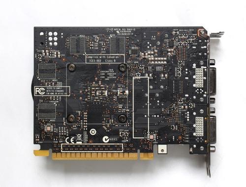 Zotac GeForce CUDA GTX750 2GB DDR5 PCI-E 128BIT 2DVI/mHDMI MP