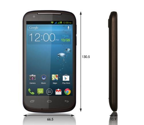 Gigabyte Gsmart GS202 Dual SIM Brown