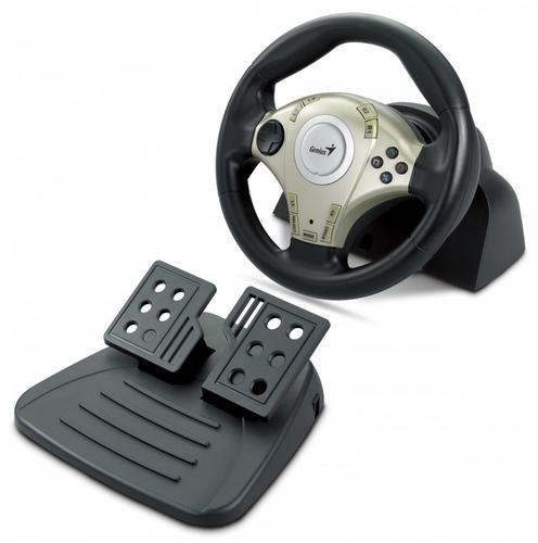 Genius Kierownica Twin Wheel F1, PC&PS2, Vibration Feedback, USB