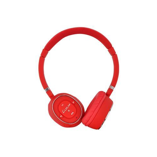 Thermaltake LUXA2 słuchawki BT-X3 Bluetooth stereo mikrofon czerwone