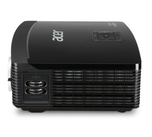 Acer P7305W DLP WXGA/500AL/10.000:1/7kg HDMI USB RJ45 Lens-Shift (odtwarzanie plików z USB, opcja bezprzewodowej komunikacji)