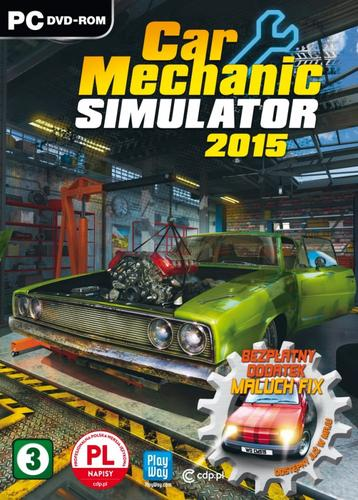 CD Projekt Red Car Mechanic Simulator 2015 PC (napisy PL)