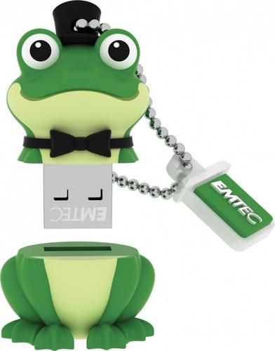 EMTEC Pendrive 8GB Crooner Frog The Animalitos