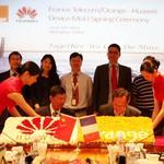 HUAWEI podpisało porozumienie o współpracy  z France Telecom-Orange