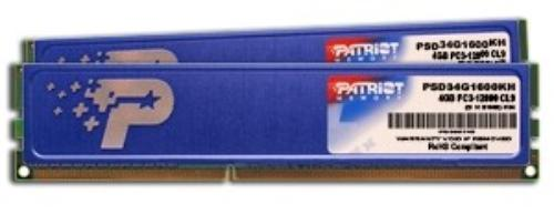 Patriot DDR3 4GB (2x2GB) KH 1333MHz CL9