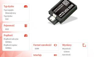 Mach Xtreme SATA DOM SSD 8GB 70/10 MB/s Vertical MLC 20nm BULK