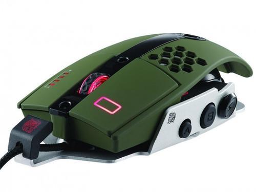 Thermaltake Tt eSPORTS Myszka dla graczy - Level 10 M 8200 DPI Laser Military Green