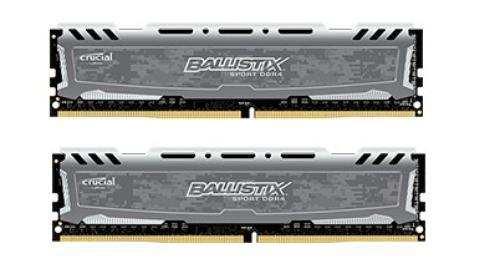 Crucial DDR4 Ballistix Sport LT 16GB/2400(2*8GB) CL16 DRx8