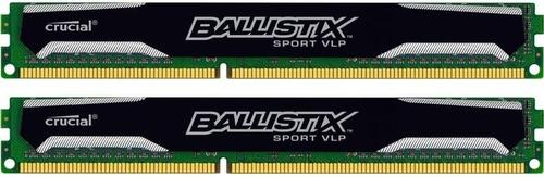 Crucial Ballistix Sport DDR3 16GB/1600(2*8GB) CL9 Low Voltage very Low Profile