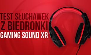 Test Sprzętu Gamingowego z Biedronki Za 40 zł - Słuchawki Gaming Sound XR