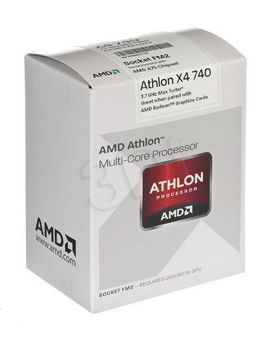 AMD Athlon X4 740 3.2GHz BOX (FM2) (65W)