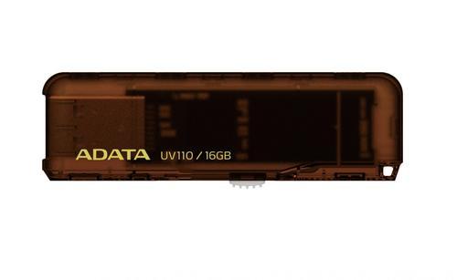 A-Data DashDrive UV110 16GB USB2.0 brązowy