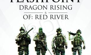 Operation Flashpoint: Dragon Rising + Red River (książka + gry PC)