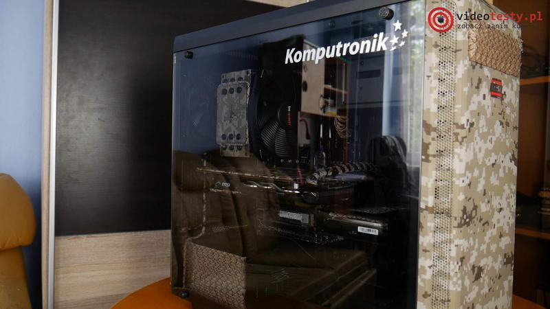 Komputronik Powered by MSI [Camo Squad Edition] środek