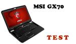 MSI GX70 test laptopa dla graczy