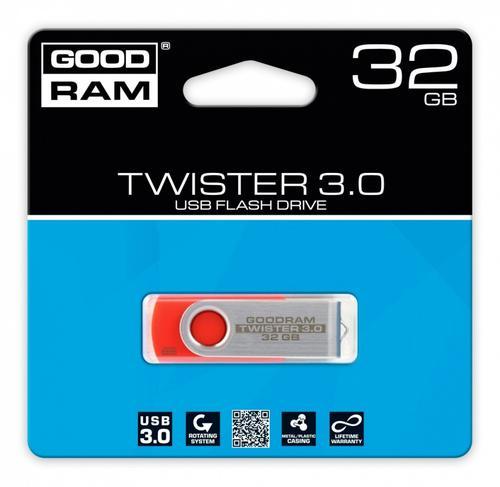 GoodRam TWISTER RED 32GB USB3.0