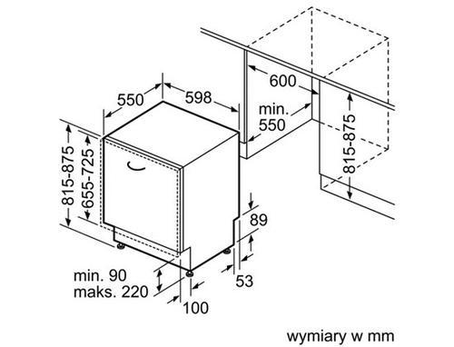 Bosch SMV53L50EU Zmywarka