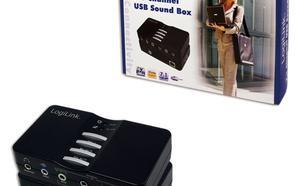 LogiLink Karta dzwiekowa 7.1 USB 8-kanalowa