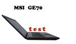 MSI GE70 laptop dla graczy - test