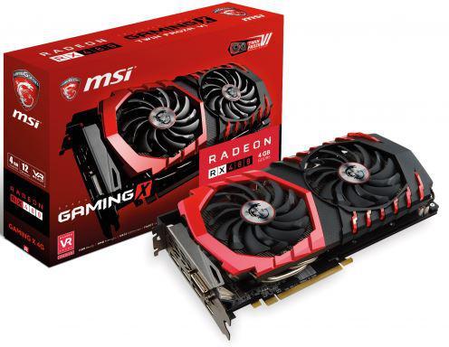 MSI Radeon RX 480 Gaming X 4GB