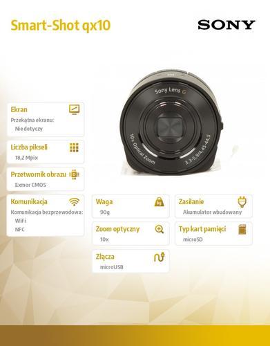 Sony Smart-Shot qx10 black