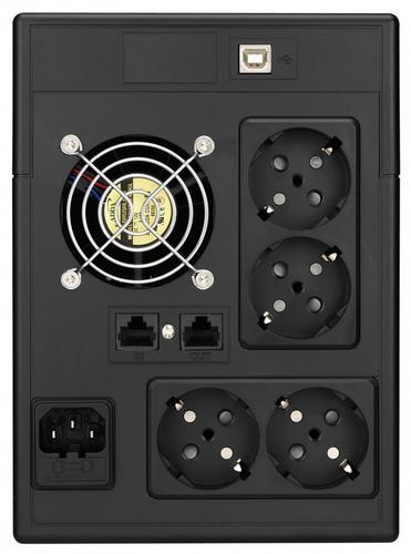 Lestar UPS V-2000SS AVR LCD 4xSCH USB RJ 45