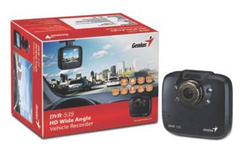 Genius DVR-535 2,4 LCD video-rejestrator trasy