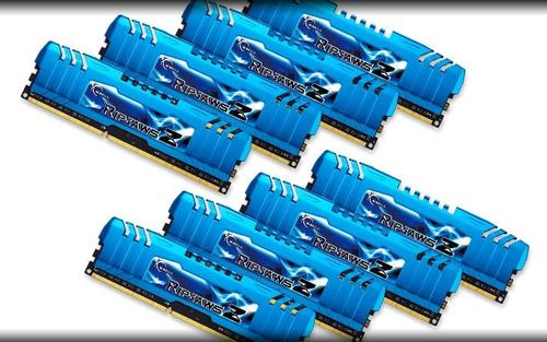 G.SKILL DDR3 64GB (8x8GB) RipjawsZ 2400MHz CL11 XMP