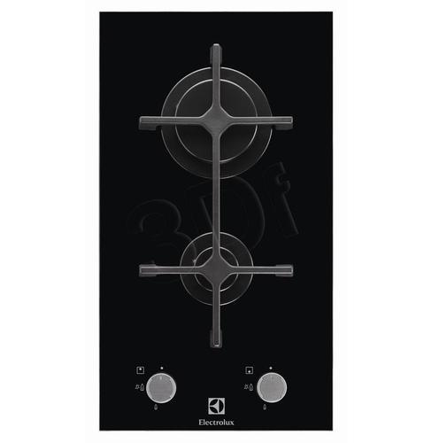 ELECTROLUX EGC 3322 NOK (gazowa/ 2 pola gazowe/ czarna)