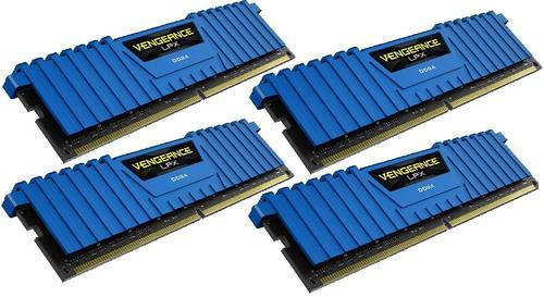 Corsair DDR4 Vengeance LPX 16GB /2800 (4*4GB) BLUE CL16-18-18-36