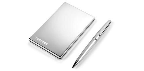 "Toshiba STOR.E Steel 1.8"" 250GB titanium (PA4218E-1HB5)"