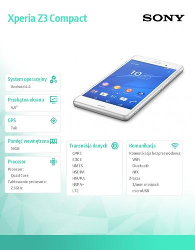Sony Xperia Z3 Compact D5803 White