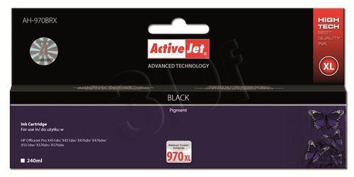 ActiveJet AH-970BRX tusz czarny do drukarki HP (zamiennik HP 970XL CN625AE) Premium