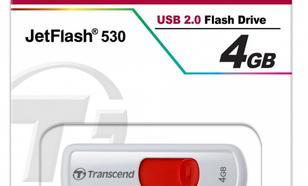 Transcend JETFLASH 530 4GB USB2.0 WHITE