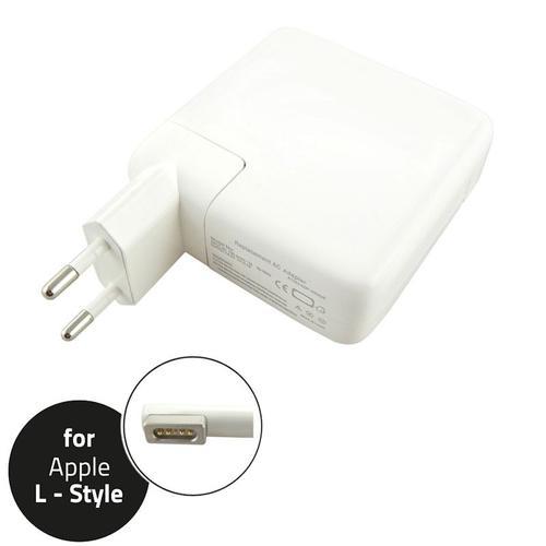 Qoltec Zasilacz do Apple 45W | 14.5V | 3.1A | L-Shape