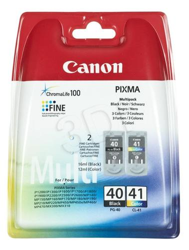 CANON Tusz PG-40/CL-41=PG40/CL41=0615B043, Zestaw Bk+Kolor, PG-40+CL-41