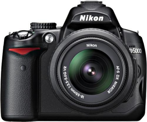 NIKON D5000 BODY+18-55+55-200 VR