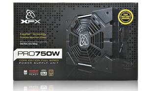 XFX Core TS 750W (80+ Bronze, 4xPEG, 135mm, Single Rail)